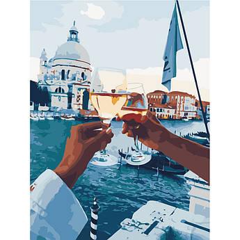 Картина по номерам Свидание в Венеции 40 х 50 см (BK-GX21611)