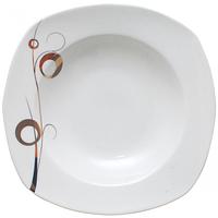 Тарелка суповая SNT Золотий завиток 30822-G11