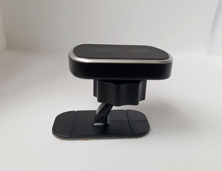 Магнітний тримач на панель авто з затискним шарніром
