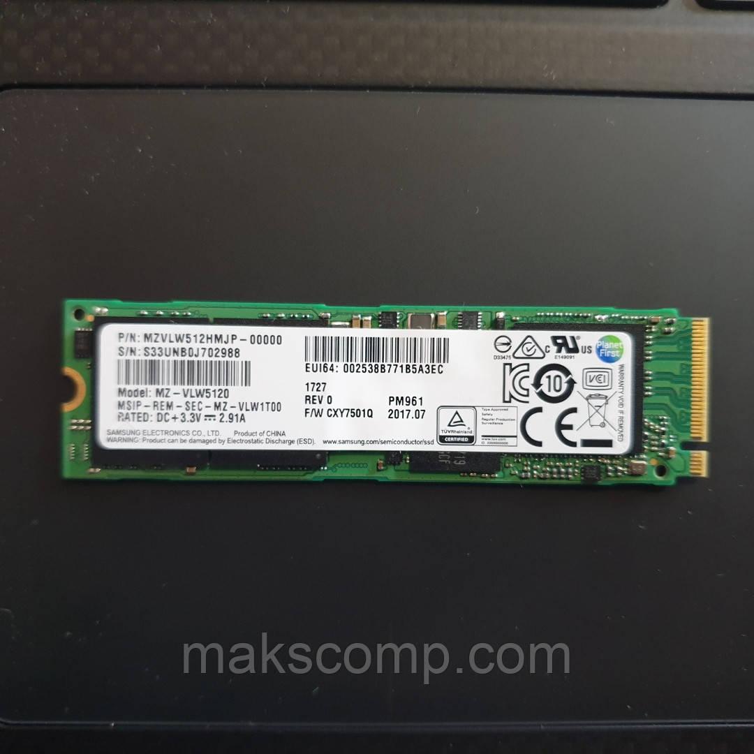 SSD Samsung PM961 512Gb m.2 NVMe PCIe (MZVLW512HEHP)
