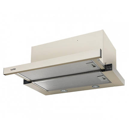 Вытяжка VENTOLUX GARDA 60 CREMA (1100) SMD LED, фото 2