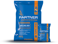 Комплексное удобрение Partner Standart NPK 20.20.20+S+ME, 25 кг
