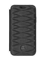 Оригинальный кожаный чехол-книжка для iPhone® X Mercedes Cover for iPhone® X, Booktype, Black