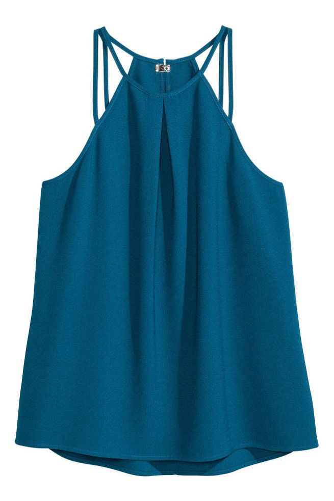 Блузка H&M Sleeveless Strappy Top US4