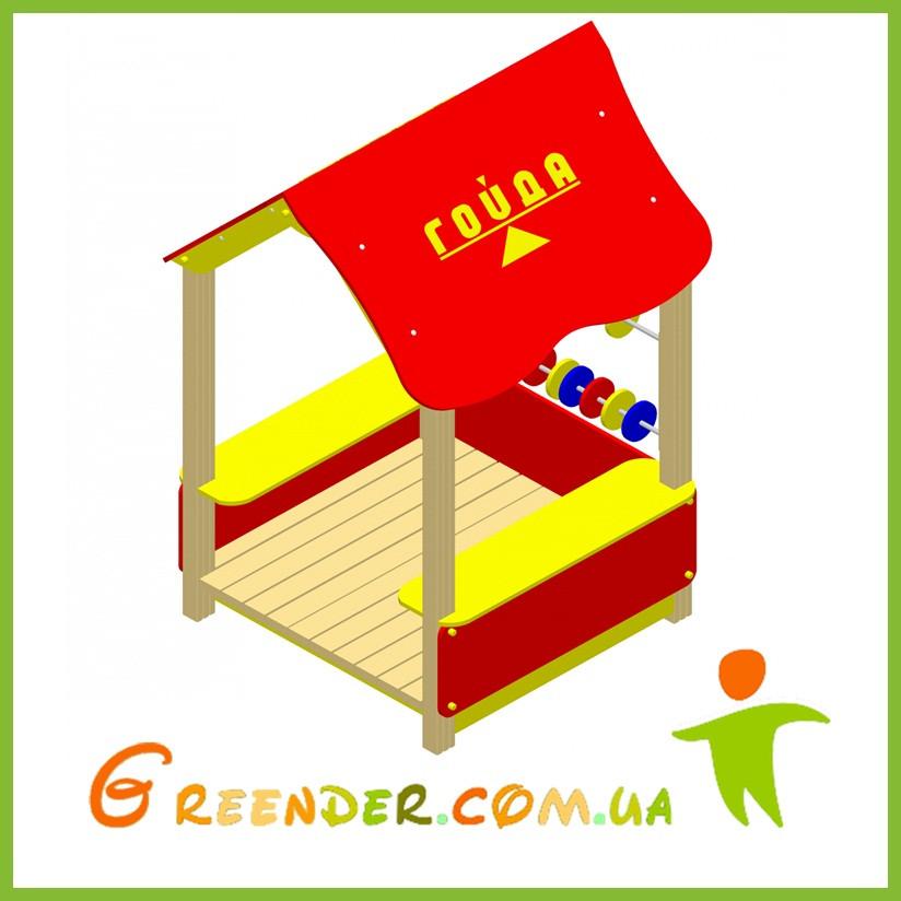 Домик-беседка (счётики) детские игровые комплексы
