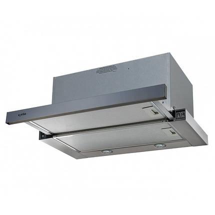 Вытяжка VENTOLUX GARDA 60 INOX (1300) SMD LED, фото 2