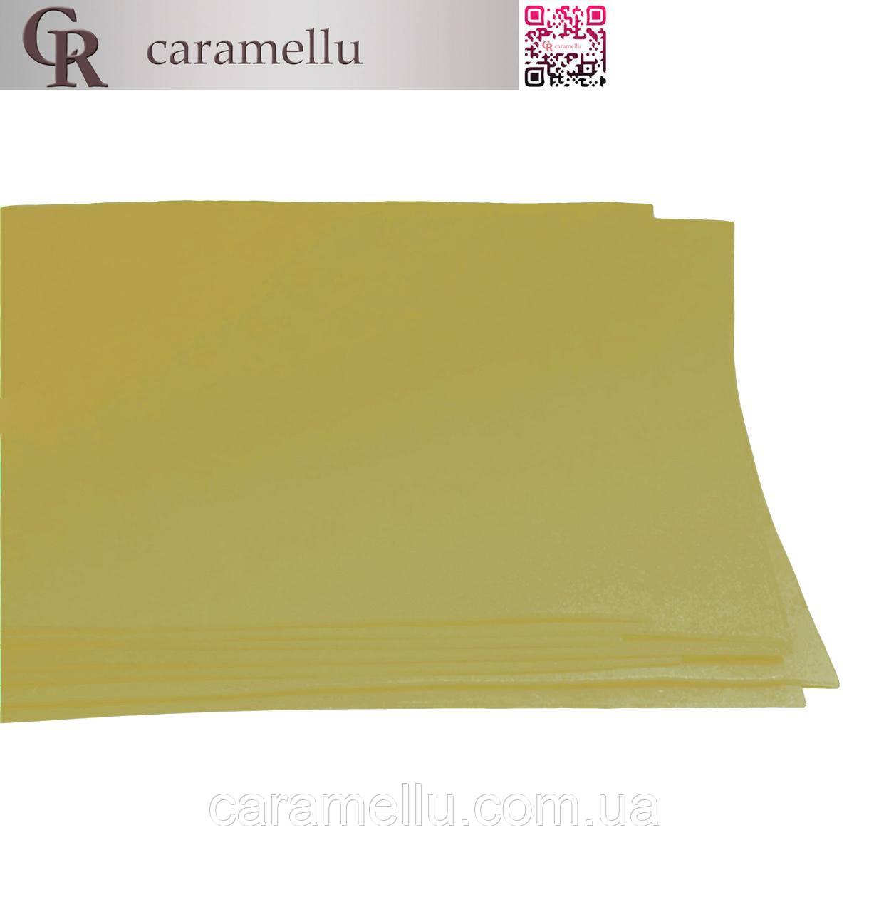 Фоамиран иранский 173, Оливковый, 1мм, 20х30см А4