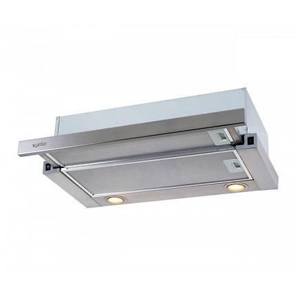 Вытяжка VENTOLUX GARDA 50 INOX(750) SMD LED, фото 2