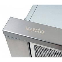Вытяжка VENTOLUX GARDA 50 INOX(750) SMD LED, фото 3