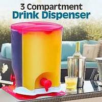 Диспенсер-дозатор питьевой - Drink Dispenser 3 компанентный.