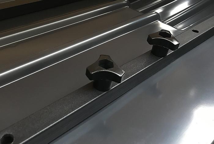 Вантажний автобокс Terra Drive 320 сірий глянець / Бокс Terra Drive-320 серый глянец (правосторонний)