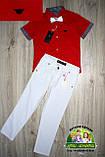 Белые брюки Armani для мальчика, фото 4