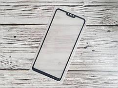 Защитное стекло Full Glue для Xiaomi Mi 8 Lite Черное