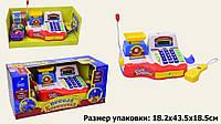 """KMKI-7778 Кассовый аппарат """"Весела Крамничка""""   бат,звук,микрофон,весы,калькулятор в кор. 43*1"""