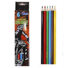 """Набор карандашей 6 цветов """"Moto"""""""