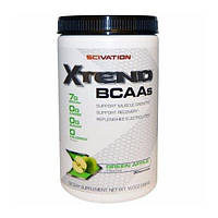 BCAA (БЦАА) - Scivation Xtend BCAAs 398 gram  Green Apple