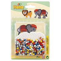 Термомозаіка Hama Набір Лев і слон midi (4183)