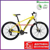 "Горный велосипед Winner SOLID-DХ 27.5 дюймов 19"" желтый"