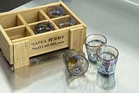 Набір п'яних чарок голографічні 40 мл 6шт ND011