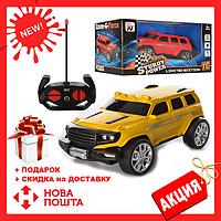 Радиоуправляемый Джип HY-999-2B1-2B Желтый | игрушечная машинка  | машина на пульте управления