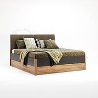 Двоспальне ліжко 160х200 мяка спинка без каркасу у спальню Рамона Міромарк