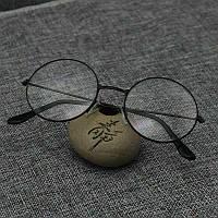 Очки прозрачные имиджевые с круглыми линзами для имиджа черные