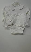 Боді-кофта дівч. T.F.Tafyy 2022, 68 білий
