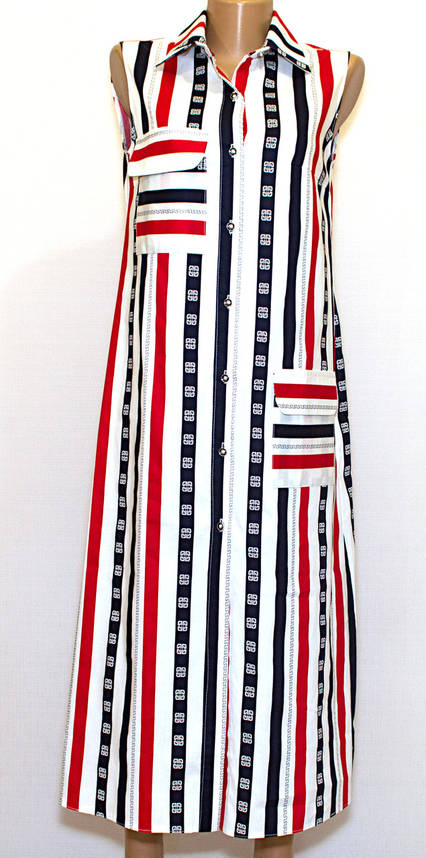 Платье рубашка в пол (L), фото 2