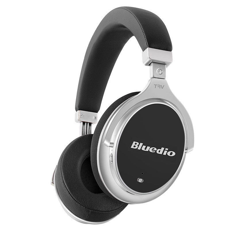 ϞBluetooth гарнитура Bluedio F2 Black музыкальная беспроводная для смартфона и планшета с микрофоном