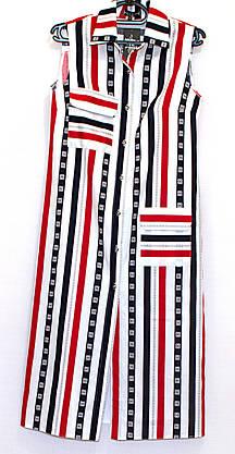 Платье рубашка в пол (L), фото 3