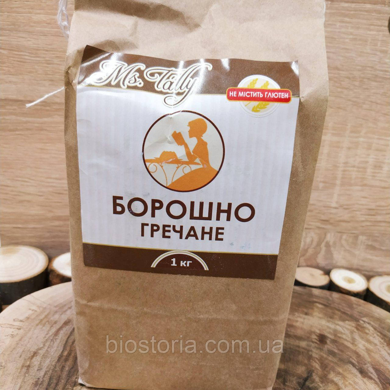 Мука гречневая без глютена Ms.Tally, 1кг.