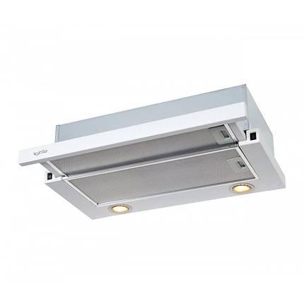 Вытяжка VENTOLUX GARDA 60 WH (750) SMD LED, фото 2
