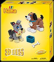 Термомозаика Hama Набор Объемные собаки midi (3243)
