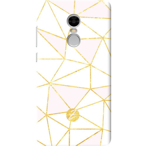 Чехол на Xiaomi Redmi Note 4 Gold Rose