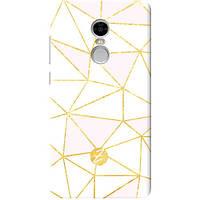 Чехол на Xiaomi Redmi Note 4 Gold Rose, фото 1