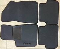Авто коврики ворсовые для Daewoo Lanos антрацит Carrera
