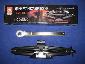 Домкрат механічний 1т трещітка ДК 1905802285
