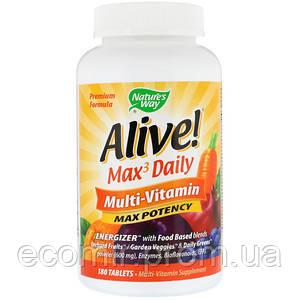 Мультивитамины, Nature's Way (180 таблеток / 3 в день)