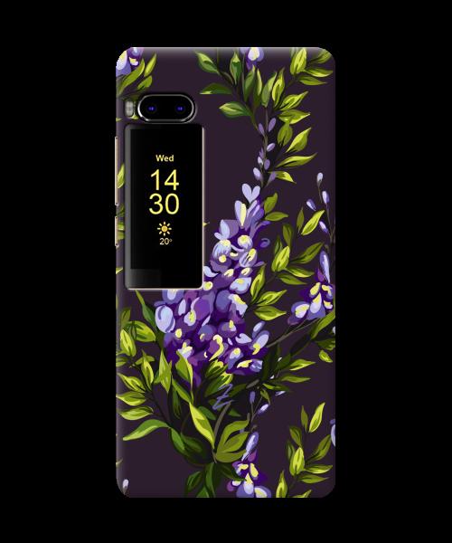 Чехол на Meizu Pro 7 Violet