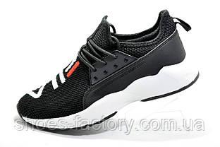 Летние кроссовки в стиле Fila, Black\White (Фила)