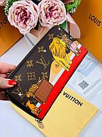 70ab32741956 Портмоне LOUIS VUITTON DAMIER CANVAS жираф (реплика), цена 1 800 грн ...
