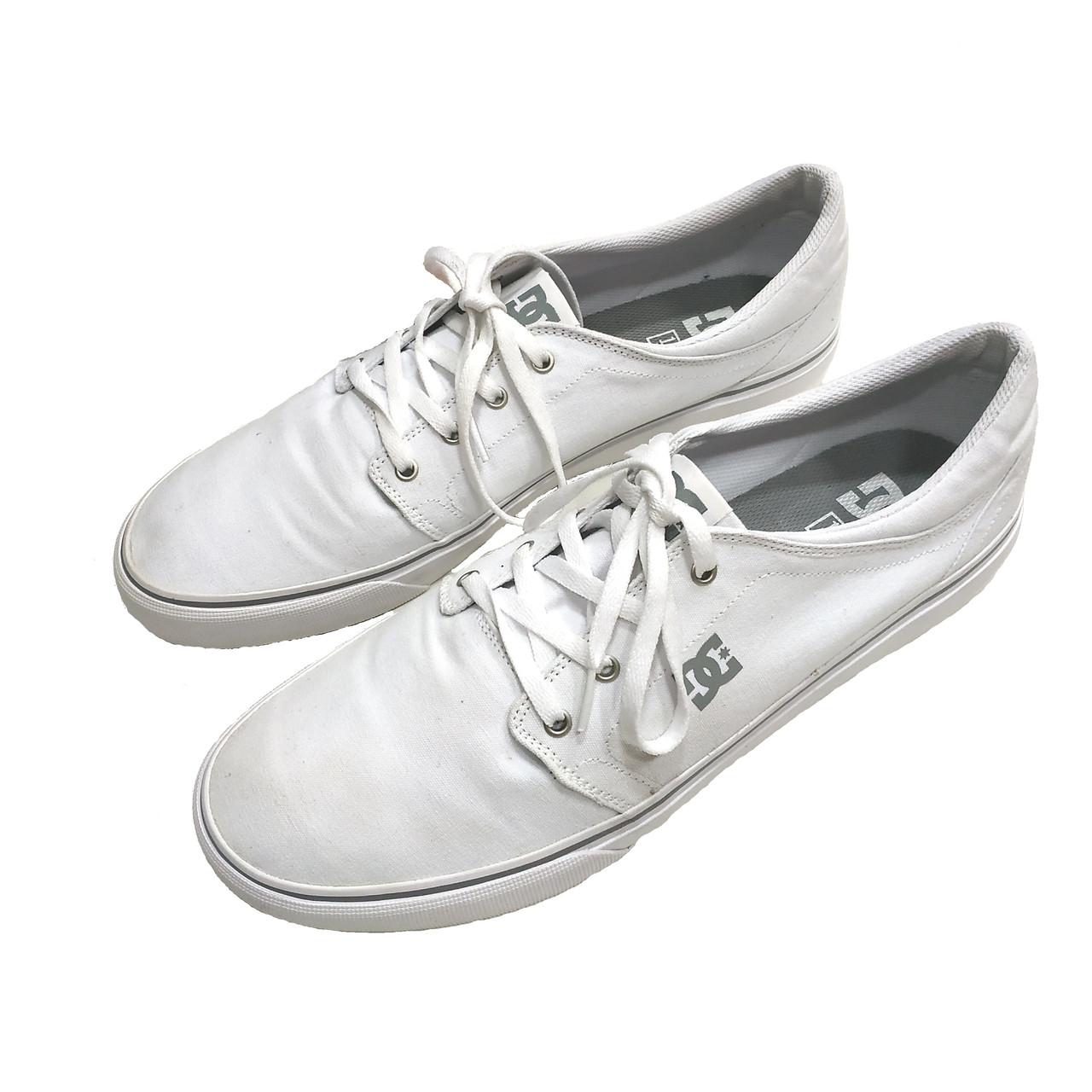 a5d1c8d1 Кеды мужские белые DC Shoes размер 45 - Интернет-магазин