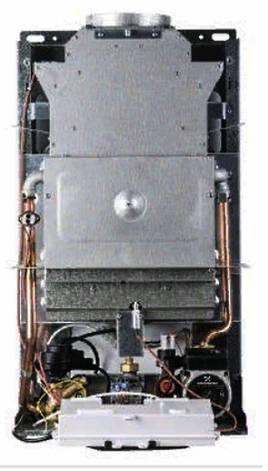 Дымоходный двухконтурный газовый котел ITALTHERM CITY CLASS 28 C площадь обогрева до 280 м2 / Италтерм Сити, фото 2
