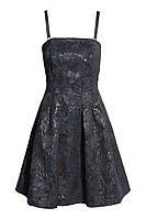 Платье H&M Jacquard-weave Bandeau Dress US 10