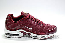 Женские кроссовки в стиле Nike Air Max TN Plus, Бордовые, фото 3