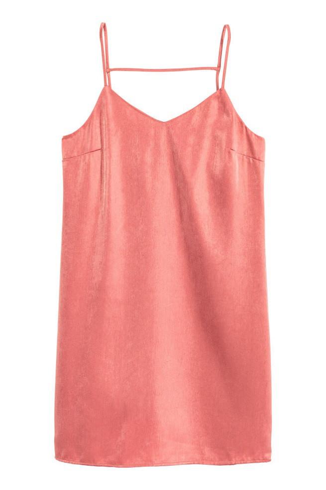 Платье H&M Satin Dress US 4
