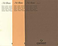 Зразок паперу для пастелі MI-TEINT.ASS. A5, 160г/м2, забрендований з лицевої сторони, Canson