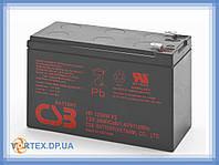 Батарея (Аккумулятор) 12V 9Ah CSB HR 1234W F2 бу