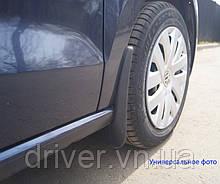 Бризковики передні для SsangYong Rexton 2006-> . комплект 2шт (з порогами)