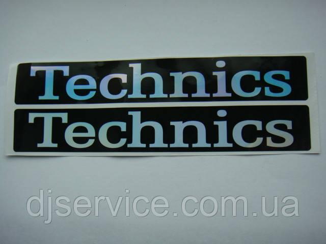 Наклейка 1 шт для Technics sl-1200 MK2/3/5/6/MK5G